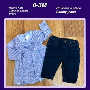 EUC,Naatrjie Kids and Children's Place outfit 3M